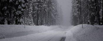 دو مانیتوره خیابان زمستانی