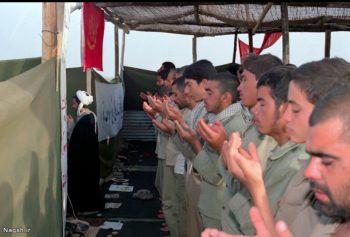 نماز جماعت  جبهه