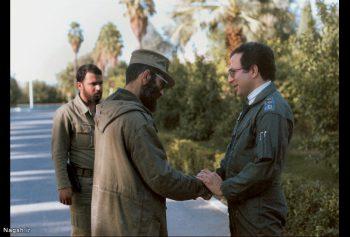 شهید خلبان فکوری با رهبری