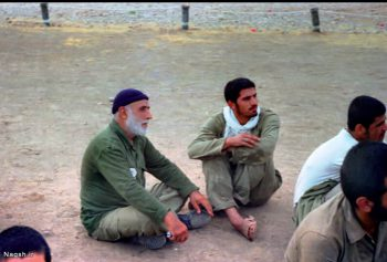 حضور پیران در جبهه