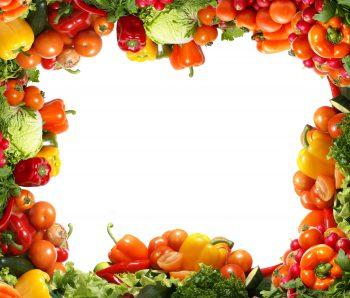 تابلویی از سبزیجات