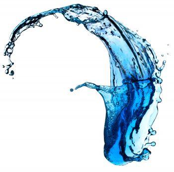 شکل جالب آب