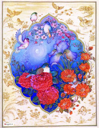 گل و مرغ و اسلیمی