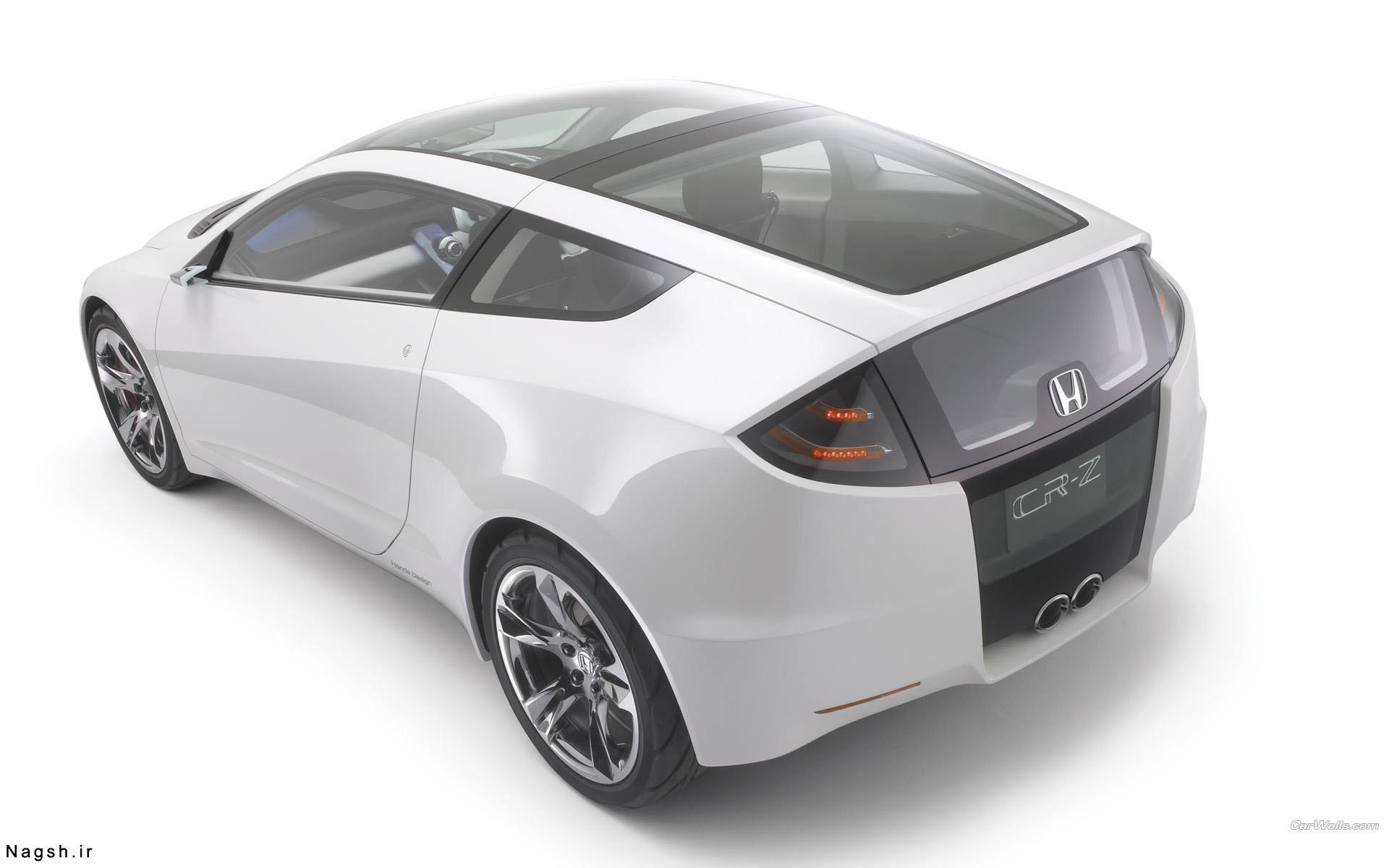 تصویر بک گراند سفید ماشین هوندا