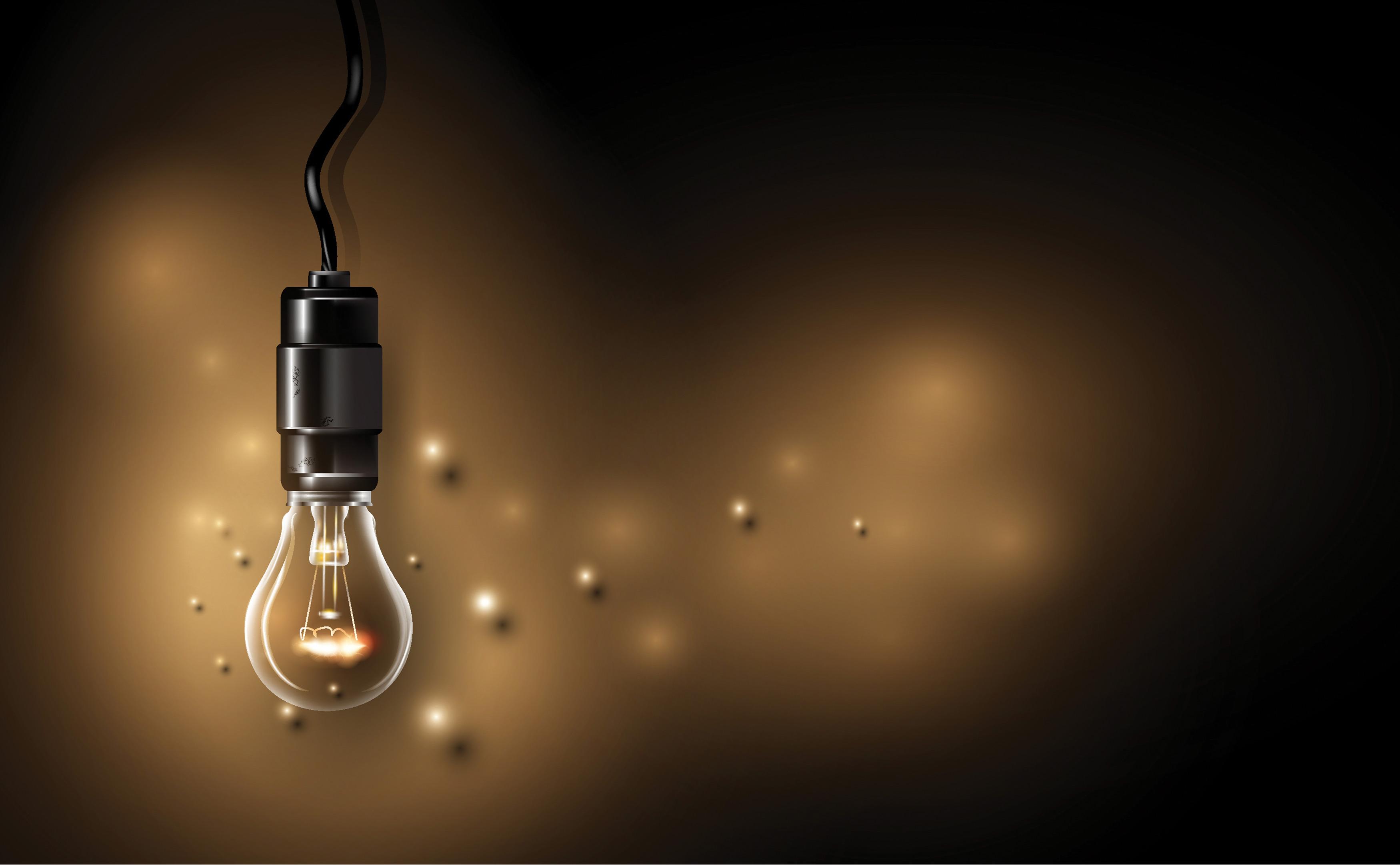 لامپ آویزان