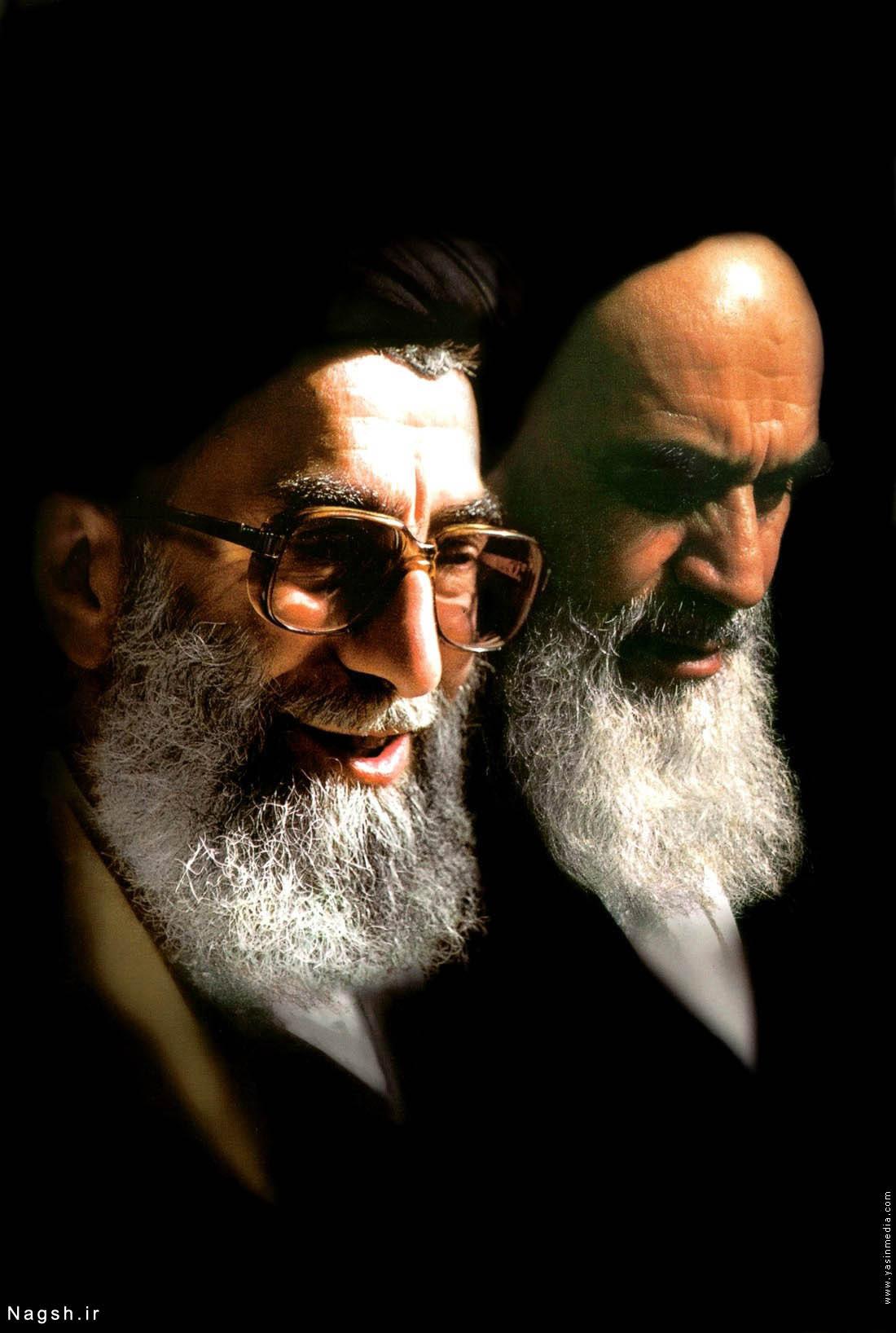 عکس با کیفیت رحلت امام خمینی