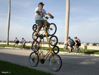 دوچرخه های سوار بر هم
