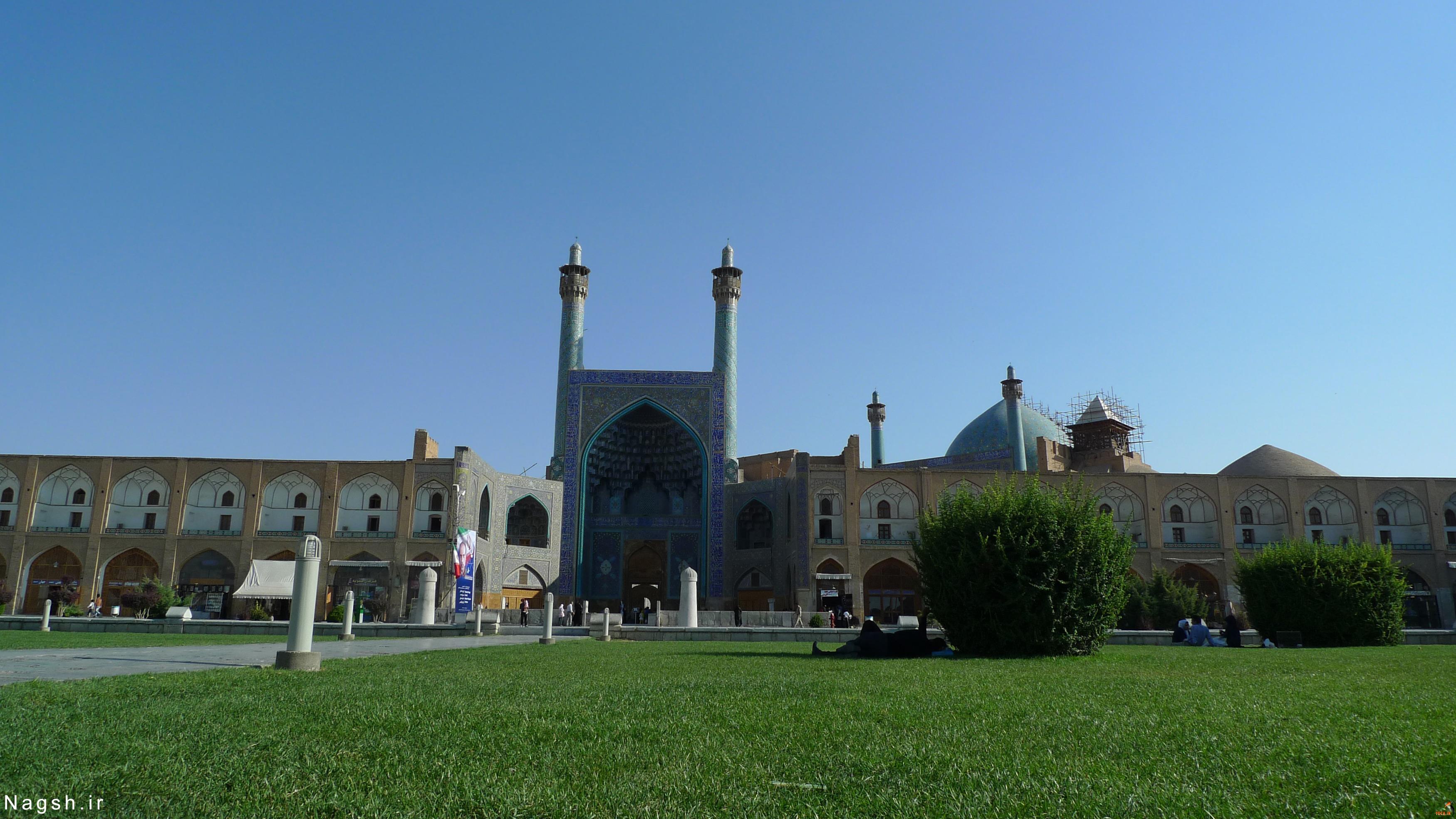 عکس از مسجد امام - میدان نقش جهان اصفهان