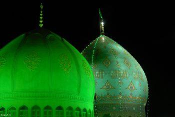 مسجد جمکران در شب