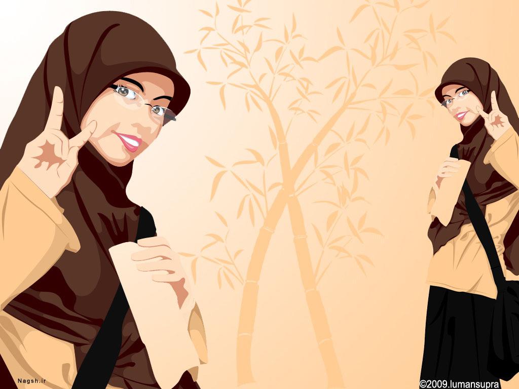 زن با حجاب