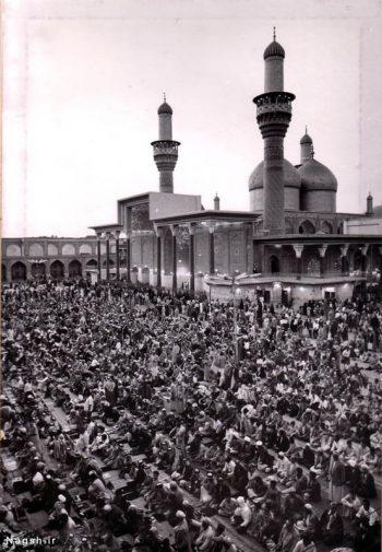 تصویر قدیمی حرم امام کاظم
