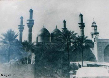 تصویر قدیمی حرم امام جواد