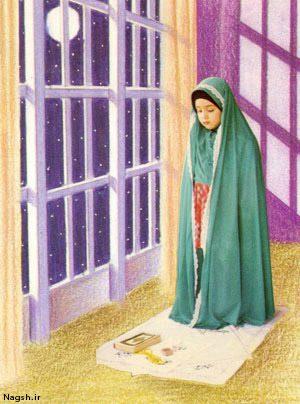 کودک نماز خوان