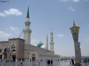 تصویر محوطه مسجد پیامبر