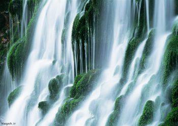 آبشار سبز