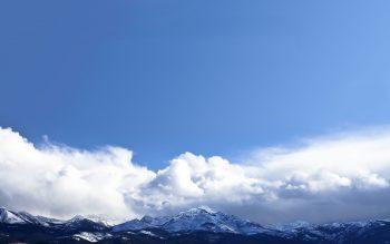 آسمان کوهستان
