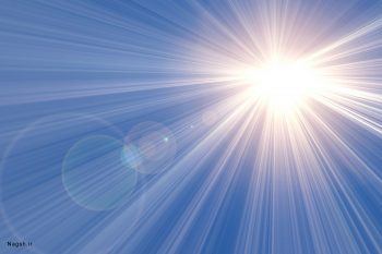 تابش نور خورشید