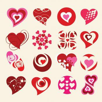 علائم وکتوری عشق love