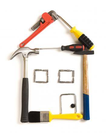 خانه ای ساخته شده از ابزارآلات