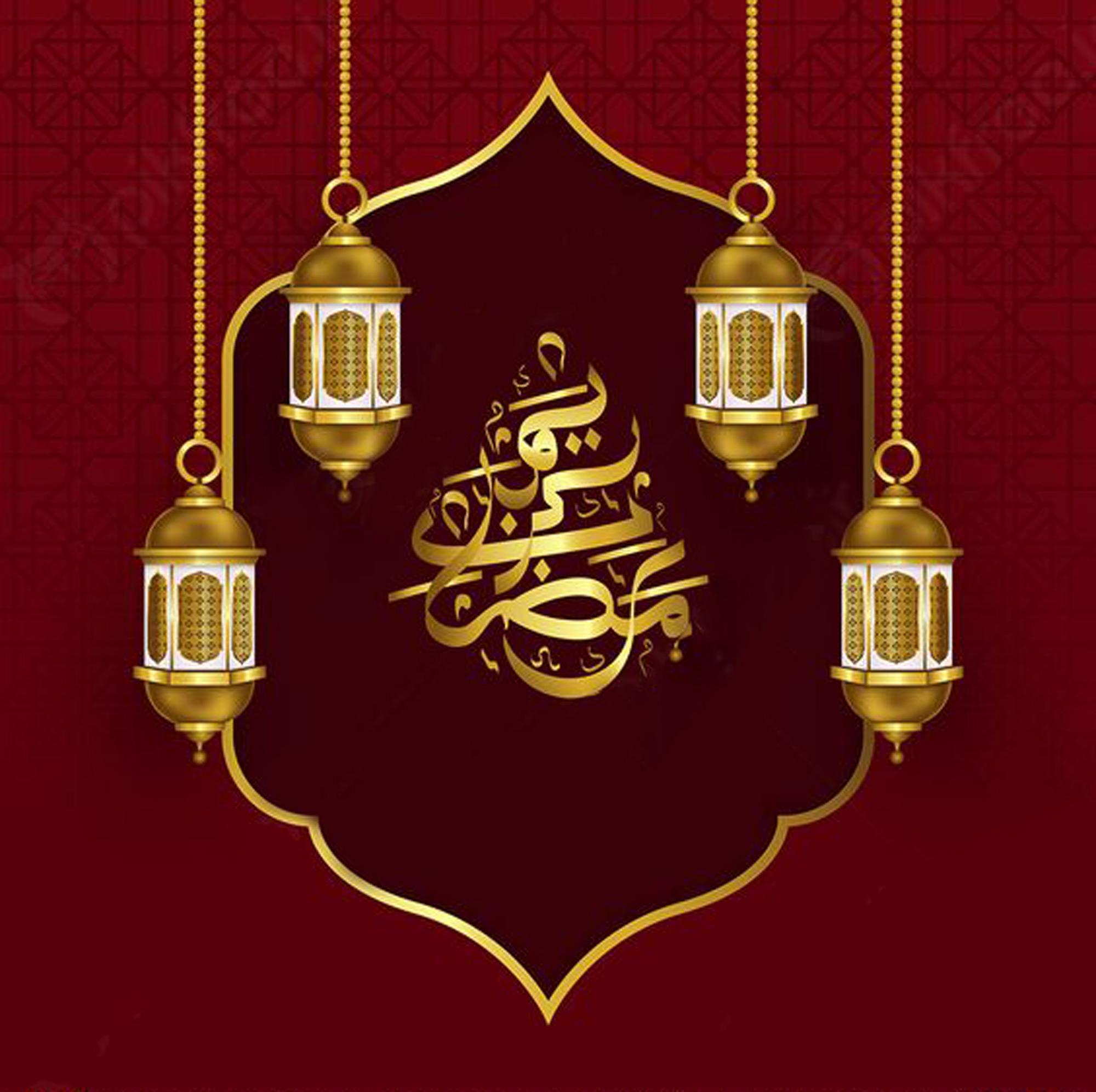 تصویر گرافیکی مخصوص ماه رمضان