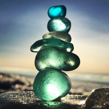 سنگهای رنگی زیبا