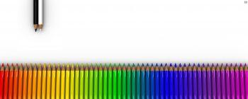 دو مانیتوره مداد رنگی