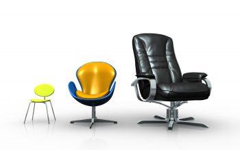 صندلی اداری از کوچک به بزرگ