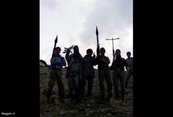 عکس یادگاری نوجوانان در جبهه
