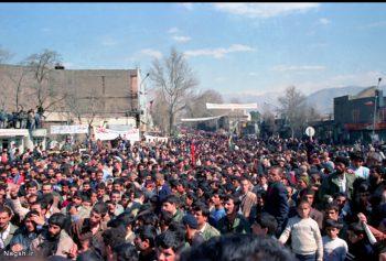 مردم و سوگواری شهیدان