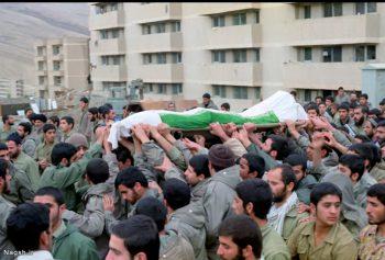 تشییع پیکر شهید در دوکوهه