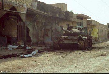 تانک در شهر