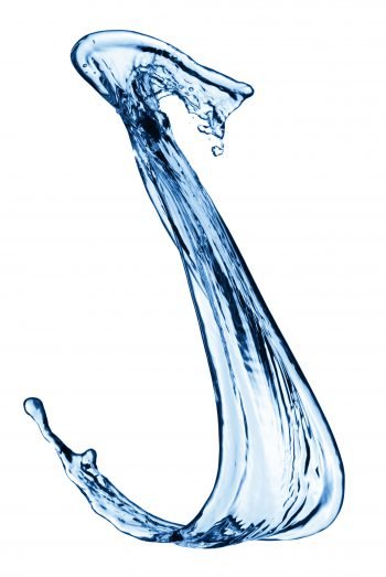 شکل عجیب آب