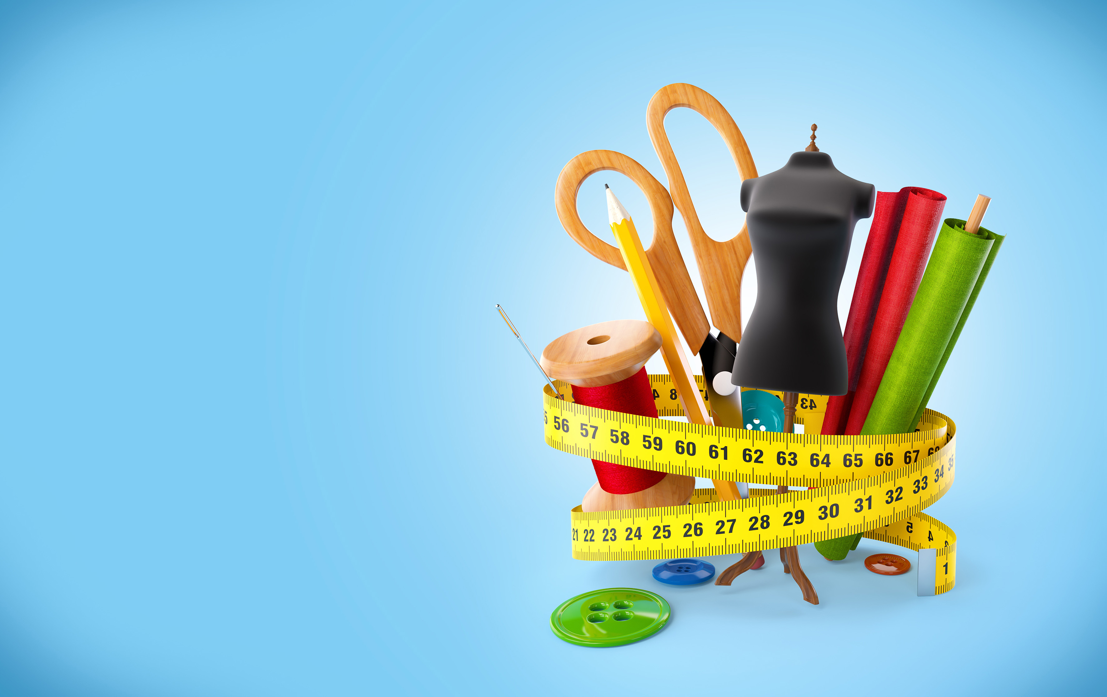 تبلیغات گارگاه تولیدی لباس خیاطی