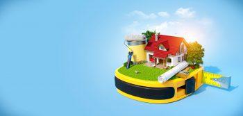 ایده تبلیغاتی شرکت ساختمانی