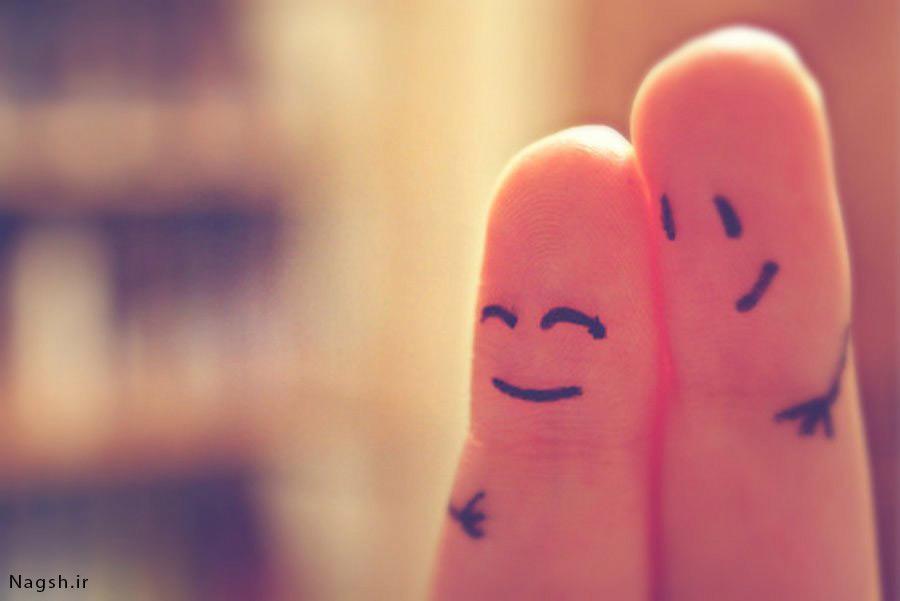 انگشتان خندان