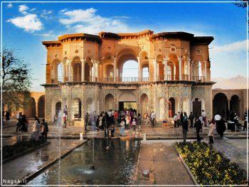 باغ شازده کرمان و سردری ورودی آن