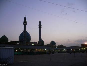 مسجد جمکران از دور