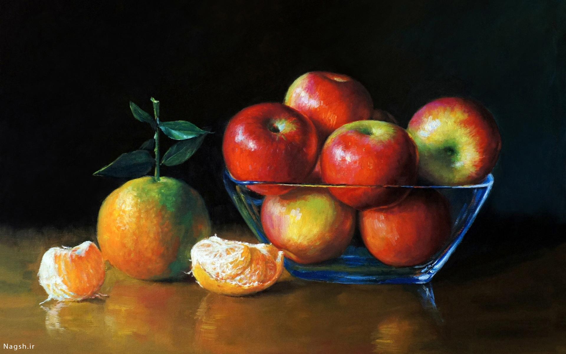طراحی میوه های تازه