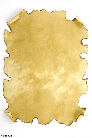 بک گراند کاغذ قدیمی سوخته شده