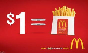 پوستر تبلیغاتی مک دونالد