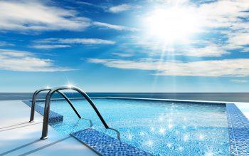 محل شنا در دریا