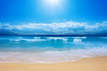 دریا آبی