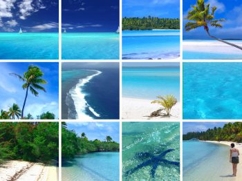 تکه عکس هایی از مناظر دریا
