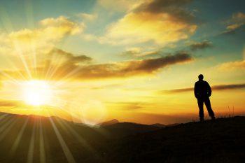 نگاه به غروب آفتاب