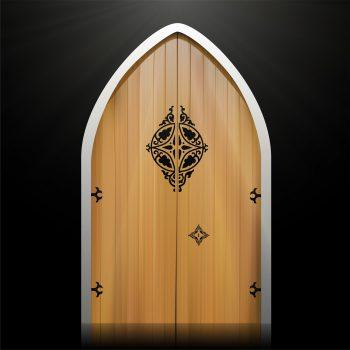 در چوبی