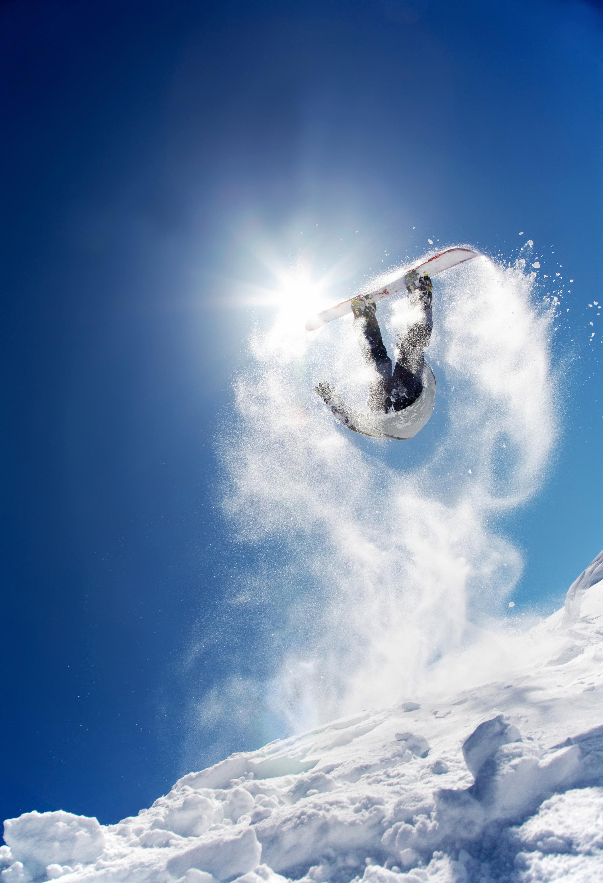 پرش با اسکی بر روی برف